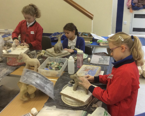 Clay Sculpture Workshop - January 2017